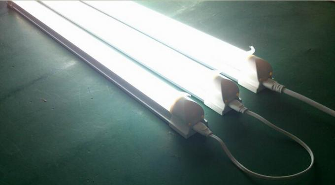 Integrated 10W , 20W , 30W T8 LED Tube Lighting 100-277V high bright and effiency