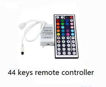 Indoor / outdoor bright remote RGB LED Strips Light 12v 24v flexiable PCB Material