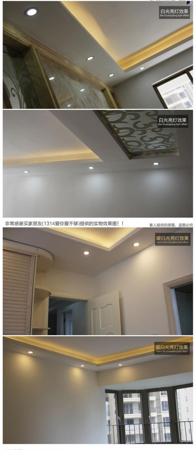 Dimmable 3w 6w 9w Round led panel lights Commercial Lighting for home , hotel , office