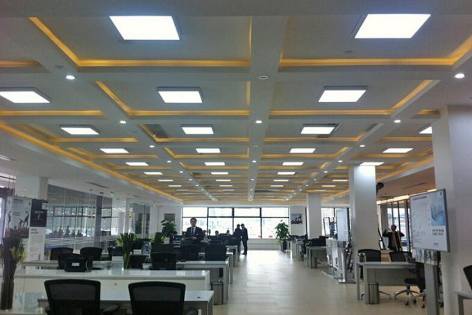 3800-4200Lm 60x60cm LED recessed panel light for hotel , office , hospital