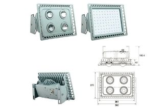 China IP65 120W Led tunnel Lamp / Lighting with CREE LED / Bridgelux COB supplier