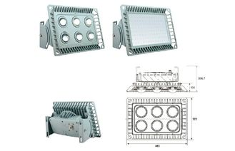 China IP65 200W Led tunnel light  with CREE LED / Bridgelux COB  , 5 Years Warranty supplier