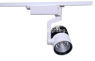 China OEM ODM COB LED Track Light , High CRI LED track spotlight for business supplier