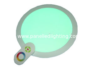 IR / RF Wireless Remote Dimming RGB LED Panel Light 3w 6w 9w for KTV , Bar