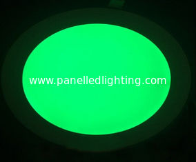 China Waterproof 18w RGB round led panel light for home , office , hospital supplier