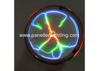 China Pocket 2.5 Inch Plasma Lightning Plate With Battery For Festival Gift supplier