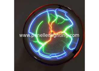 China Colorful  Plasma Lightning Plate 2.5 Inch , Pocket Plasma Disk  With Battery For Kid Toy supplier
