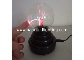 China Sound Active USB Magic Light 4 inch Plasma Light Ball For Kid Toy Desk Decoration supplier