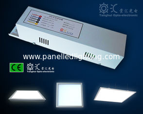China Aluminum alloy 595 x 595mm 40W square Emergency LED Panel Light IP44 100lm / w supplier