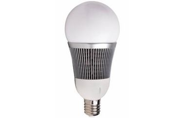 China IP20 40W B130 E27 / E40 LED Light Bulb with Fin aluminum heat sink for Home distributor