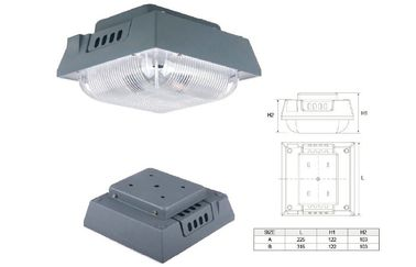 China IP65 Square 80W Led Canopy light Retrofit for gas station with CREE LED Chip distributor