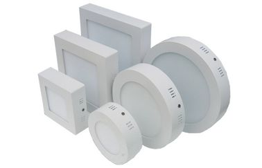 China Ceiling mount 6w 12W 18w Round LED Flat Panel Lighting 2700-6500K 100-240/277V AC distributor